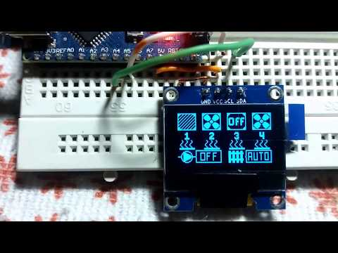Repeat Arduino I2C OLED, Symbols by CrissElectronicProjects