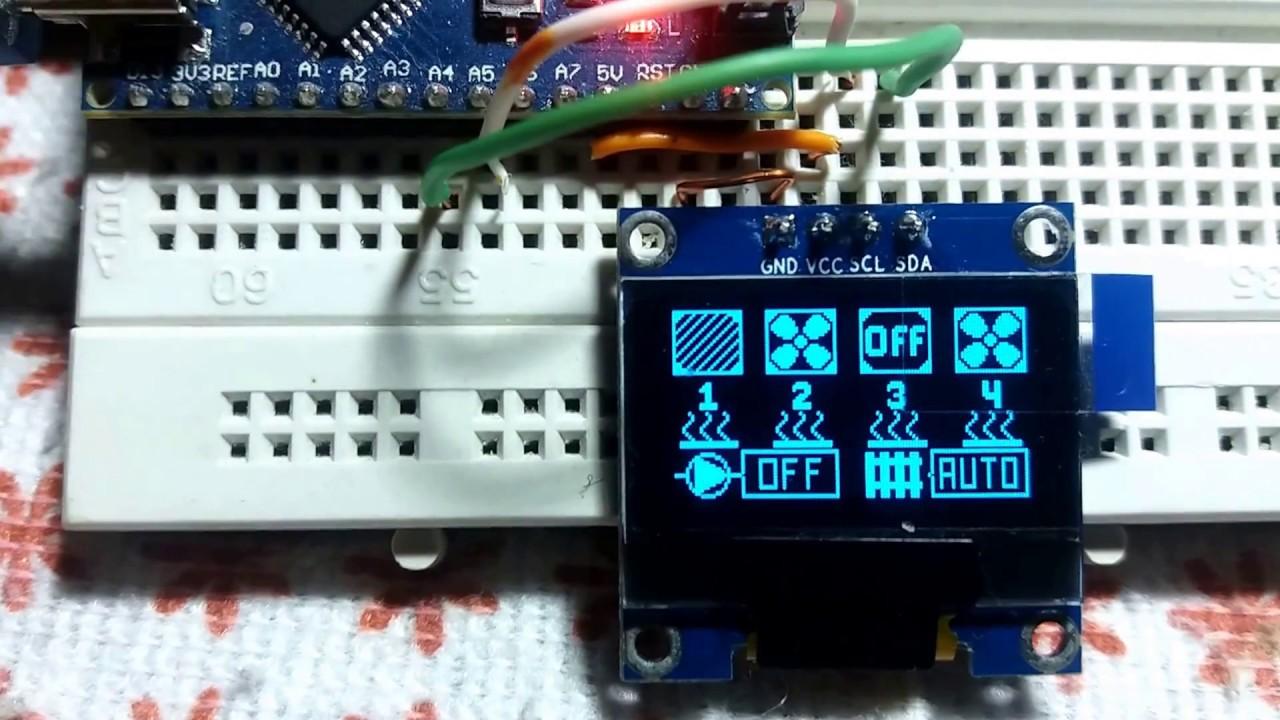 Arduino I2C OLED, Symbols