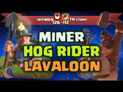 TH11 Attack Strategy, Awesome Attack With Hog Rider, Miners & Lavaloon To Destroy TH11