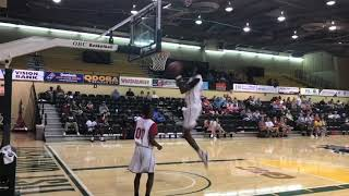 Faith 7 Basketball: Boone wins dunk contest