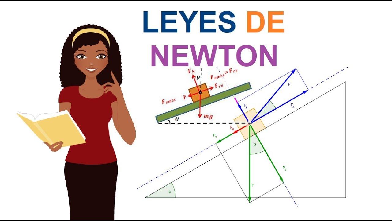 Primera Ley De Newton Ejercicios Resueltos Pdf
