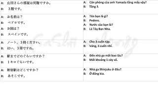 Luyện nói tiếng nhật cùng shadowing n5, n4 vietsub bản đẹp   xem là nhớ   Japanese Conversation