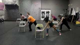 "Chair Fitness Choreography with Kit -  ""Shake it Up"" Kat de Luna ft. Big Ali"