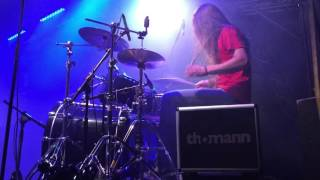 Hatred - Fuck The Zombie - Drumcam (Metal Franconia Festival 2016)