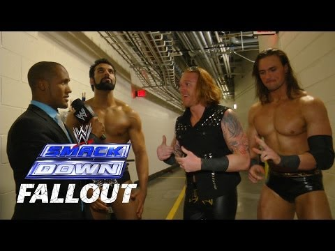 3MB Is Set For WrestleMania  - SmackDown Fallout - March 21, 2014
