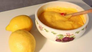 Recette du Lemon Curd (crème de citron) - William's Kitchen