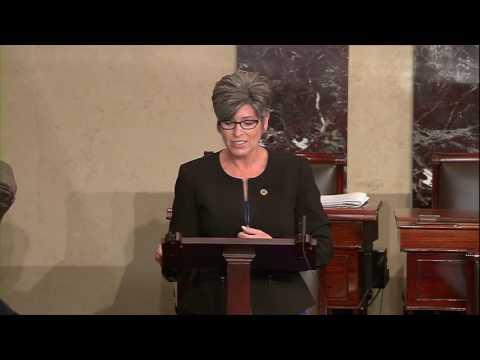 Senator Ernst Speaks From Senate Floor about Failed Health Care System under ObamaCare