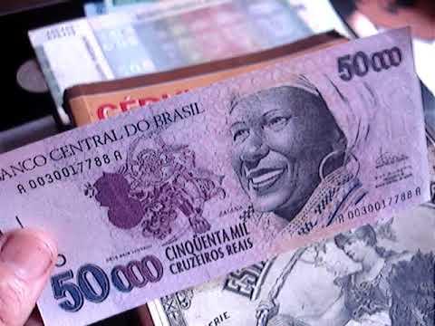 Rara Cedula De 50 Mil Cruzeiros Reais Baiana Pode Valer Ate 1000