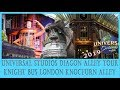 Diagon Alley At Universal Studios Orlando Florida 4k Walkthrough and narrated tour