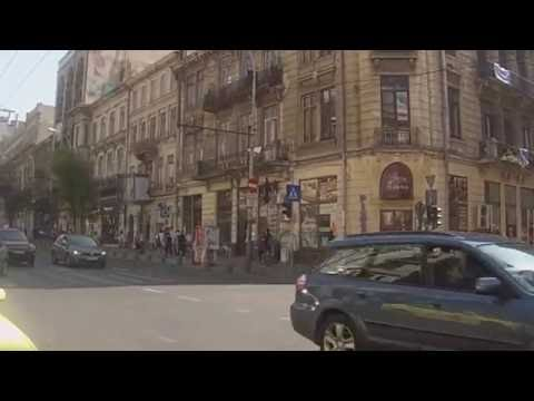 Walking around Bucharest, Romania