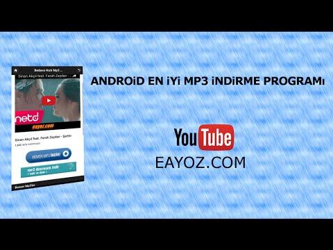 android için youtube müzik indirme programı