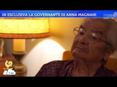 In esclusiva la governante di Anna Magnani