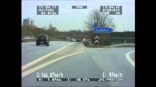 Motorrad rast in Hamburg mit 166 Km/h durch 80er-Zone