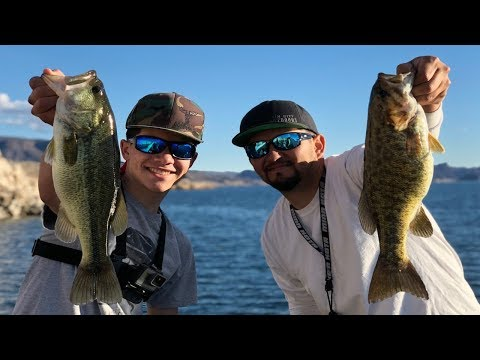 Winter Bass Fishing - Fishing America's Most Difficult Waters - Lake Mead