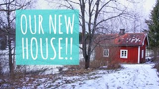 New House Tour!! || Traditional Swedish Cottage