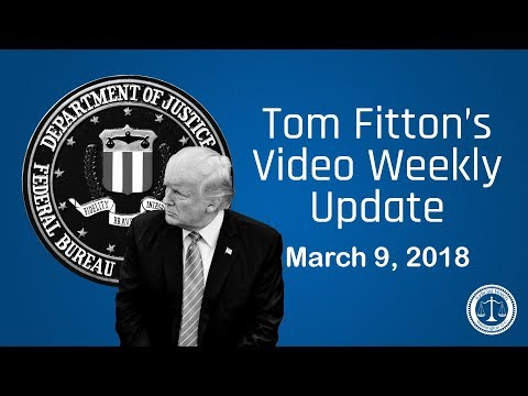 Tom Fitton's Video Weekly Update - March 9, 2018