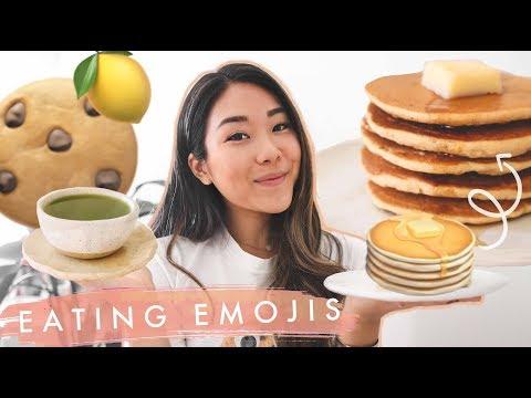 eating-emojis-for-24-hours-🍪🍵-the-emoji-diet