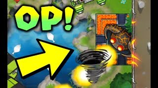 Using The TEMPLE In A LEGIT STRATEGY! (They Rage Quit) - Bloons TD Battles