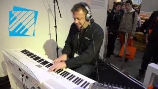 roland fp 80 demo stage piano musikmesse 2013 portalklawiszowy pl
