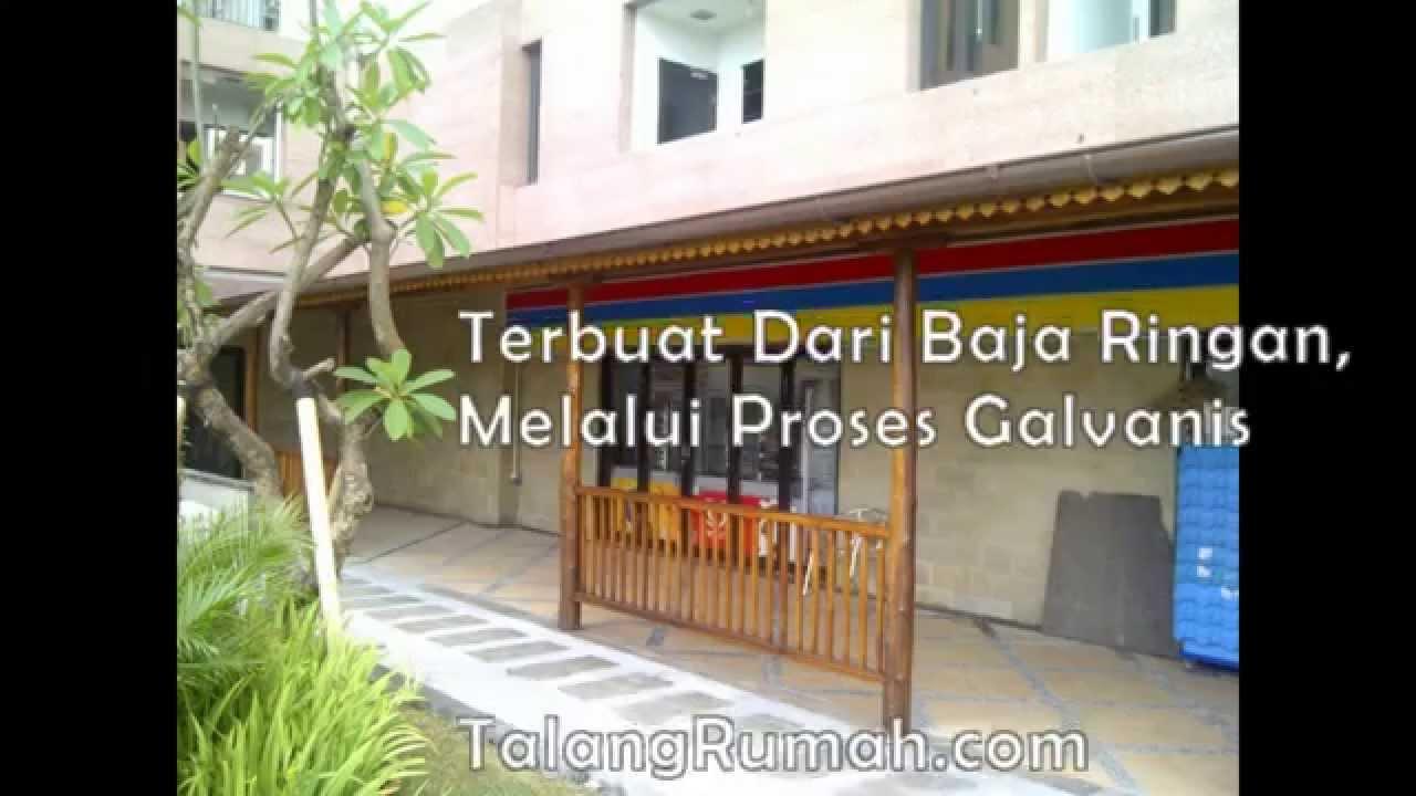 Baja Ringan Kotak Rumah Elegan Dengan Galvanos | Talang Air Hujan ...