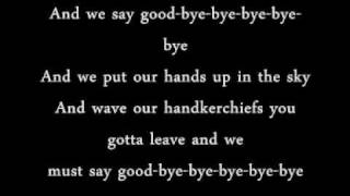 Sasha -  Goodbye with lyrics