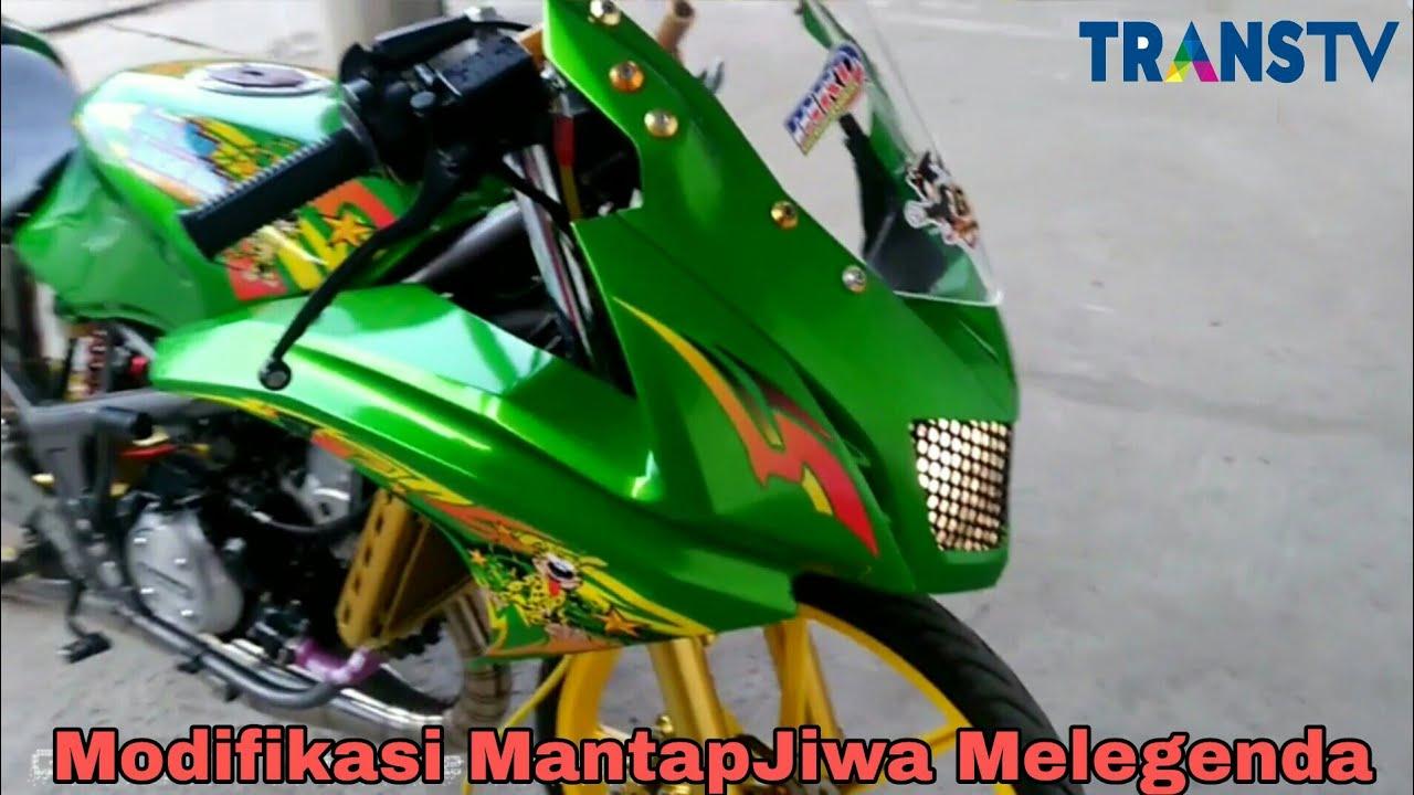 Modifikasi Kawasaki Ninja Rr 150 Hijau Keren Fairingnya Di