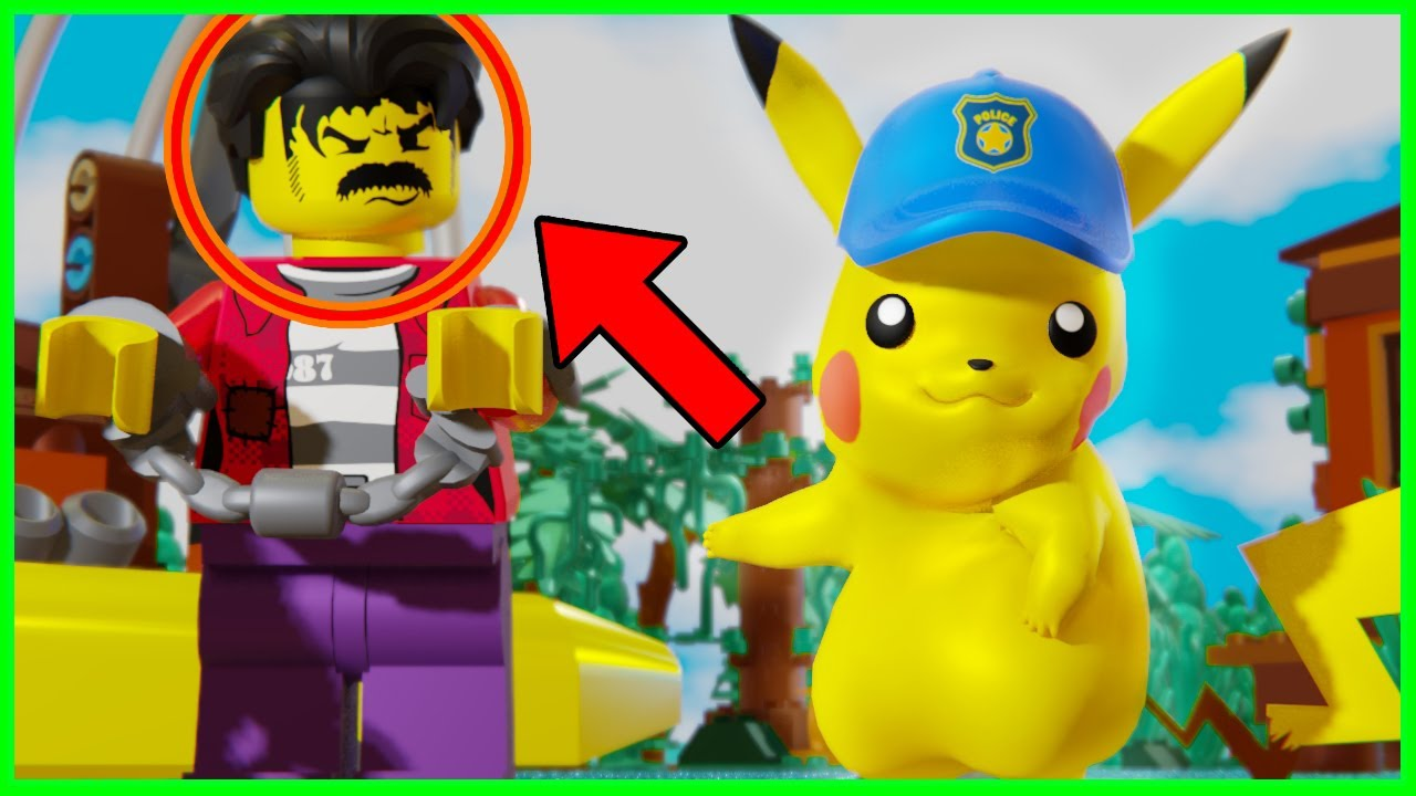 LEGO City Police Mini Movies POKEMON Episode