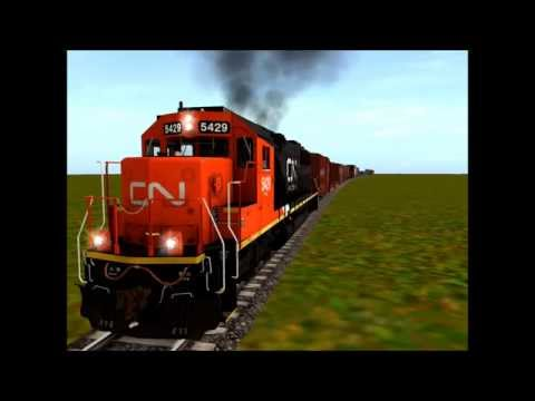 Running My Unfinished Trainz Route For The Last Time