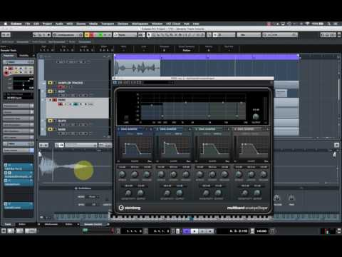 9 Ways to make AWESOME sounds in Cubase Pro 9's new Sampler Track