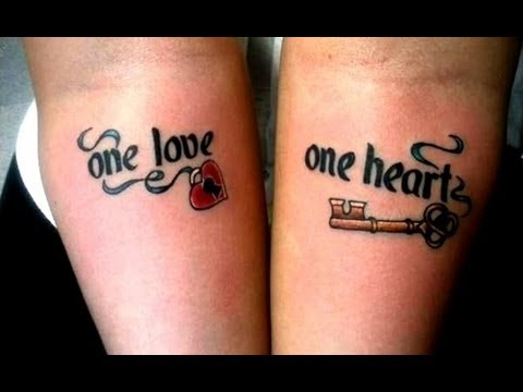 Couples With Awesome Matching Tattoos