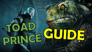 """The Witcher 3: How to Beat Toad """"Prince"""" on Death March (Hearts of Stone DLC Guide/Tutorial)"""