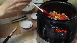 Домашние видео рецепты - гуляш из говядины в мультиварке