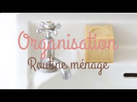 organisation maison routine m nage salle de bain youtube. Black Bedroom Furniture Sets. Home Design Ideas