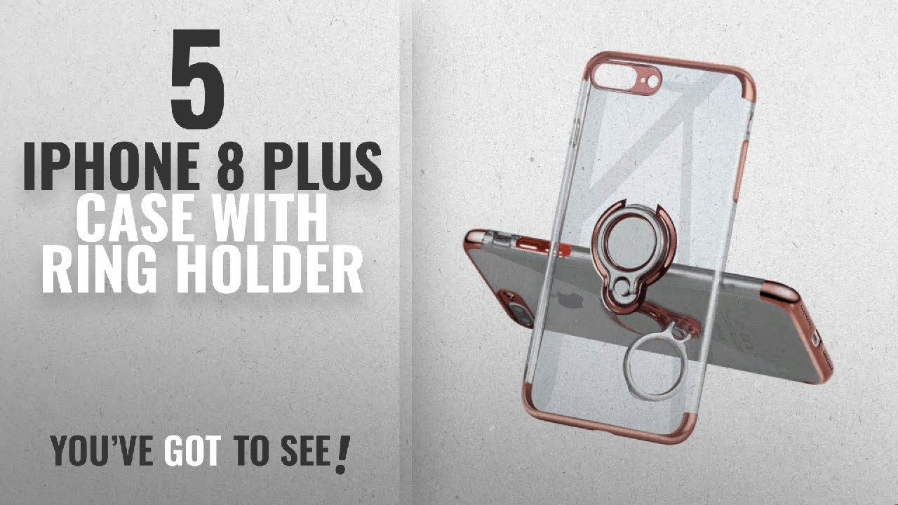 Top 5 Iphone 8 Plus Case With Ring Holder 2018 Best Sellers