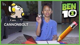 Ben 10 Bagaimana Menggambar Cannonbolt