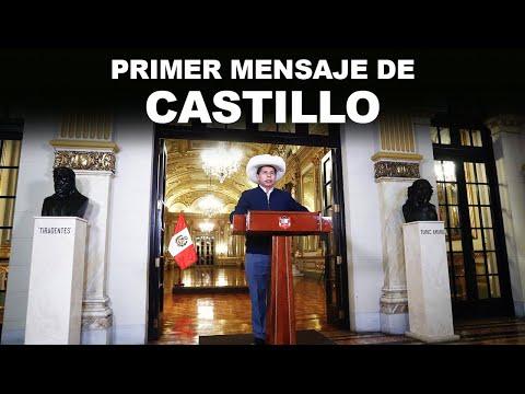 PRIMER MENSAJE DE CASTILLO