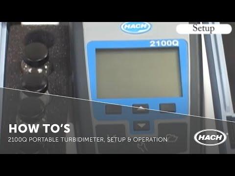 hach 2100q portable turbidimeter manual