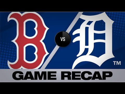 Benintendi, Betts Power Red Sox To 10-6 Win | Red Sox-Tigers Game Highlights 7/6/19