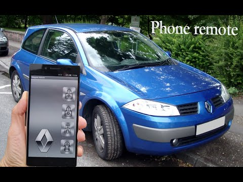 Renault Megane 2 - Bluetooth phone remote