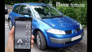 Renault Megane 2 - Bluetooth phone remote