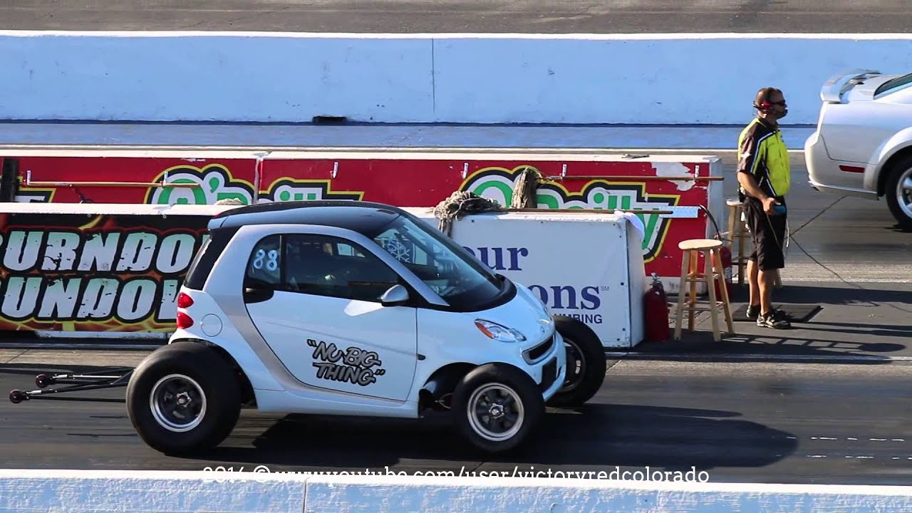 Nu Thing Smart Car 462ci Bbc Vs Gt Mustang At Rt66