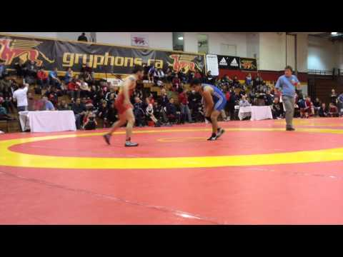 2015 Guelph Open: 61 kg Final Brandon Precin vs. Vince De Marinis
