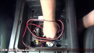 GM Rear Headrest DVD Video Monitor Installation