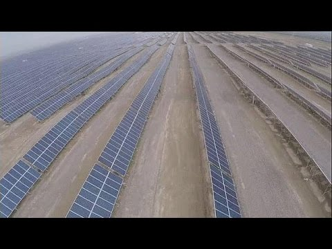 China's solar ambitions