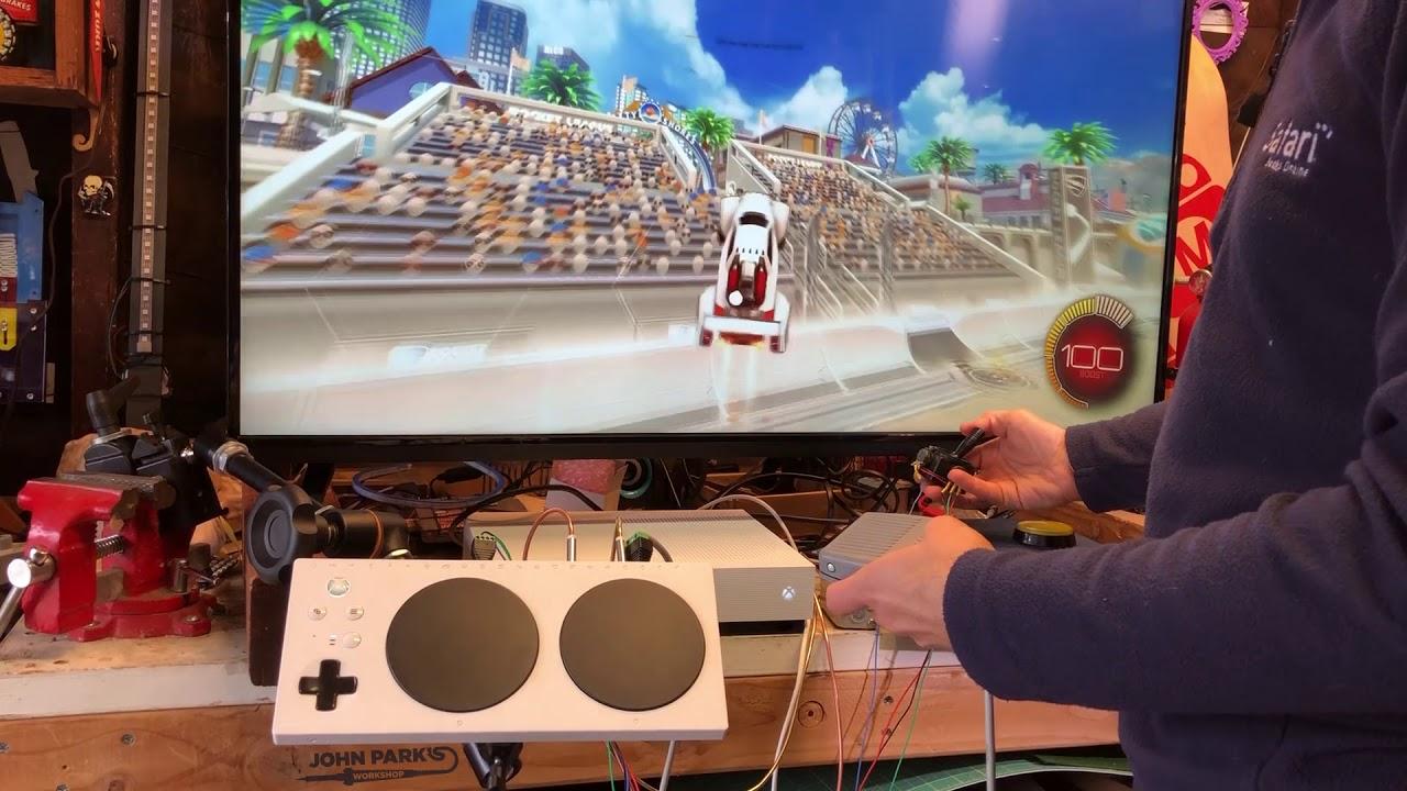 DIY Adaptive Game Controllers with @Microsoft XAC @adafruit @johnedgarpark  #adafruit