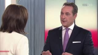Heinz-Christian Strache (FPÖ)  attackiert in