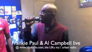 Frankie Paul and Al Campbell