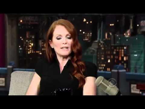 Julianne Moore   David Letterman 2011 07 26