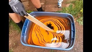 HOW TO HYDRO DIP USING SPRAY PAINT