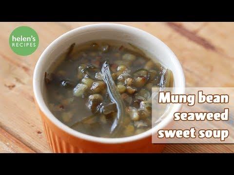 seaweed-mung-bean-sweet-soup---chè-đậu-xanh-phổ-tai